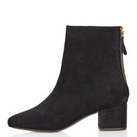 AVOCADO 60's Suede Boots - Black