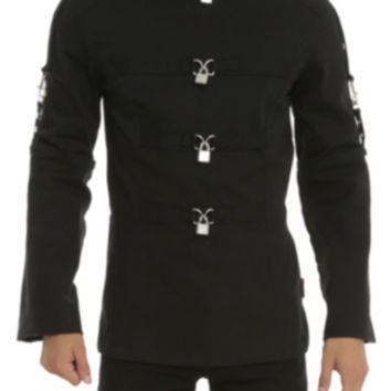 Tripp Black Straight Jacket