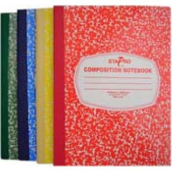 Composition Notebook - Assorted Colors