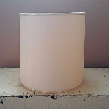 Creamy White Drum Shape 12 Inch  Lampshade Fiberglass Lamp Shade