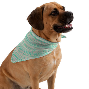 Allyson Johnson Mint Tribal Pet Bandana