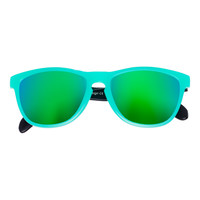 Bangers - Spring Break Keyhole Sunglasses - Teal