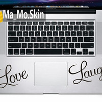 LoveMacbook Decals Trackpad Decal Macbook Stickers by MaMoLIMITED