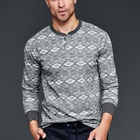 Gap Men Southwestern Henley
