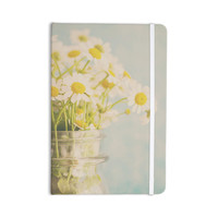 """Laura Evans """"O Daisy"""" Green Yellow Everything Notebook"""