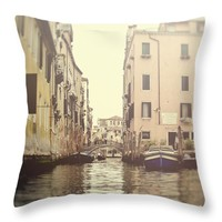 """Venice Throw Pillow for Sale by Ivy Ho - 16"""" x 16"""""""