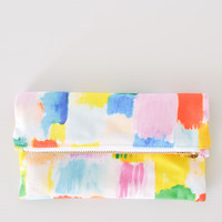 Block Party Mini Zipper Clutch