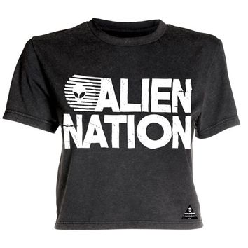 Alien Nation Mineral Wash Crop