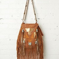 Free People Metallic Tiki Tote