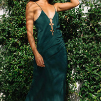 Acacia Swimwear 2016 || Brawa maxi dress in seaweed