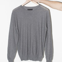 Grey Antwerp Cotton Pullover – Assembly New York