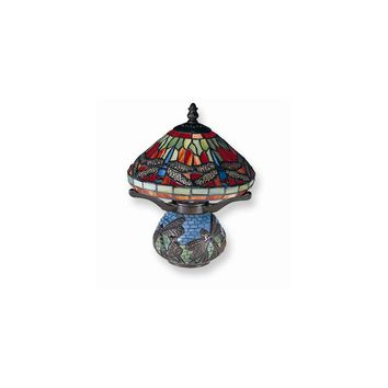 Dale Tiffany Red Dragonfly Table Lamp