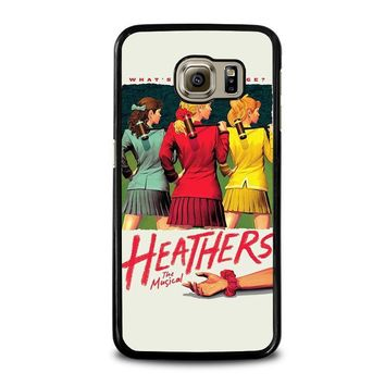 heathers broadway musical samsung galaxy s6 case cover  number 1
