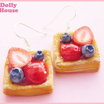 Berry Cakes  Earrings by Dolly House