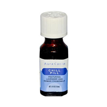 Aura Cacia Essential Solutions Chill Pill - 0.05 Fl Oz  15% Off Auto renew