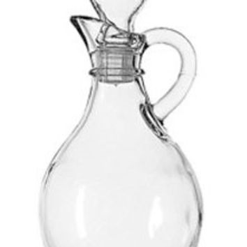 Anchor Hocking 980R 10 Oz Cruet With Stopper Presence