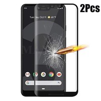 9D Full Glue Glass For Google Pixel 3XL 3a XL Screen Protector 9H Full Cover Film For Google Pixel 3 3a Premium Tempered Glass