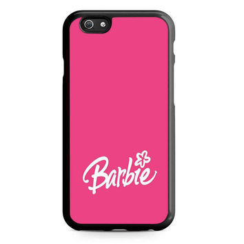 Barbie Pink Pattern Unque Iphone 5 Case