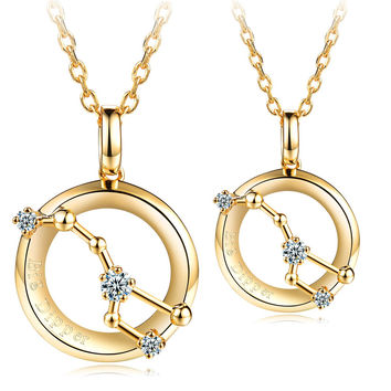 Big Dipper Fashion Lovers Necklaces
