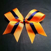 Denver Broncos or Chicago Bears team colors  Navy by 2girls2Tus