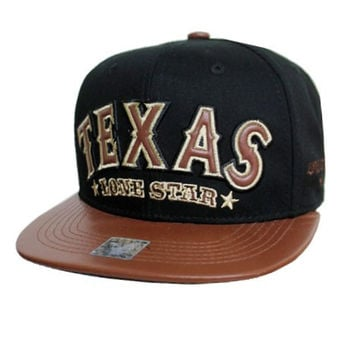Texas Cap In Black