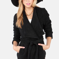In Any Event Black Coat