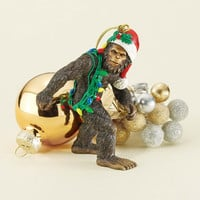 Park Avenue Collection Bigfoot The Holiday Yeti Ornament