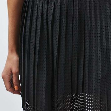 Mini Airtex Pleat Skirt - Skirts - Clothing