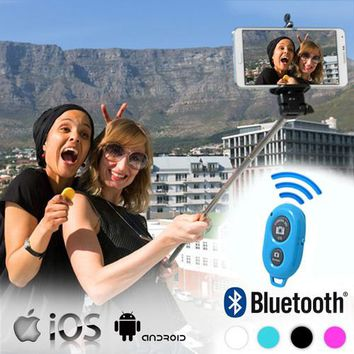 Selfie Stick with Bluetooth Remote Control