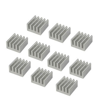 20X Aluminum Heat Sink for StepStick  A4988 IC 8.8*8.8*5mm TB