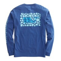 Long-Sleeve Turtle Toss Pocket T-Shirt