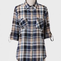 On The Trail Plaid Button-up