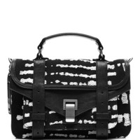 PS1 Wool-Blend Jacquard Satchel