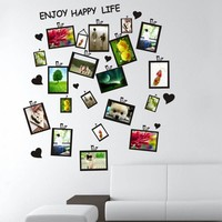 Picture Photo Frame Sticker Decal Decor Office