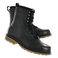 Dr Martens Men's PIER 9 8-eye black leather boots - UK Sizing 13337001