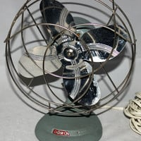 "Vintage 8"" Dominion Fan Model# 2004, Drug Store Fan, Desk Fan"