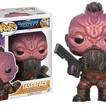 Taserface Guardians of the Galaxy Vol. 2 Funko Pop! Figure #206