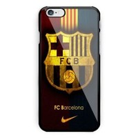Best Barcelona FC Team Logo iPhone 7 and 7+ Hard Plastic Case Cover