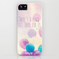 there's a place out there for us iPhone Case by Sylvia Cook Photography