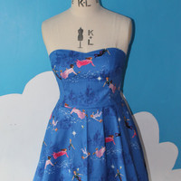 disney peter pan sweet heart dress - all sizes