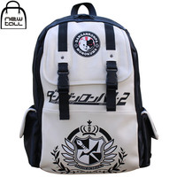 [NEWTALL]2017 New Anime Dangan Ronpa danganronpa Monokuma Cute School Backpack Shoulder Bag New Free Shipping 16072912