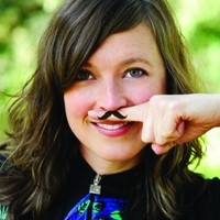 Fingerstache Temporary Tattoos (By GAMAGO)