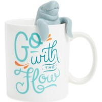 Fred and Friends Two For Tea Mug & Tea Infuser Set | Nordstrom