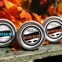 Autumn Trio, Beard Balm, 1/2 oz Tins