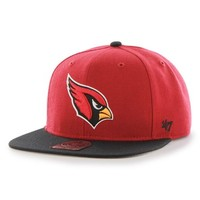 Men's 47 Brand 'Arizona Cardinals - Super Shot' Cap - Red