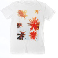 Upward Palms Pocket Tee