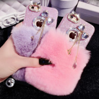 Fur & Bling Phone Case iphone