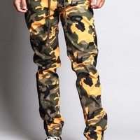 Men's Camo Jogger with Accent Band JG3009 - J15H