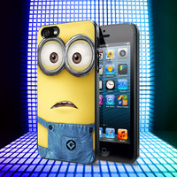 Minion Frown iPhone 4, 4S, 5, 5C, 5S Samsung Galaxy S2, S3, S4 Case