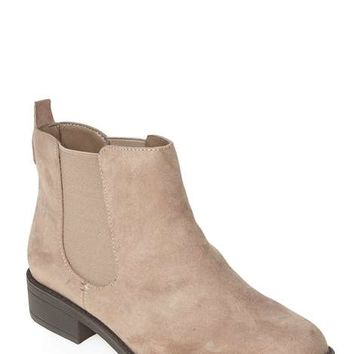 Wide fit mink 'Whammy' boots